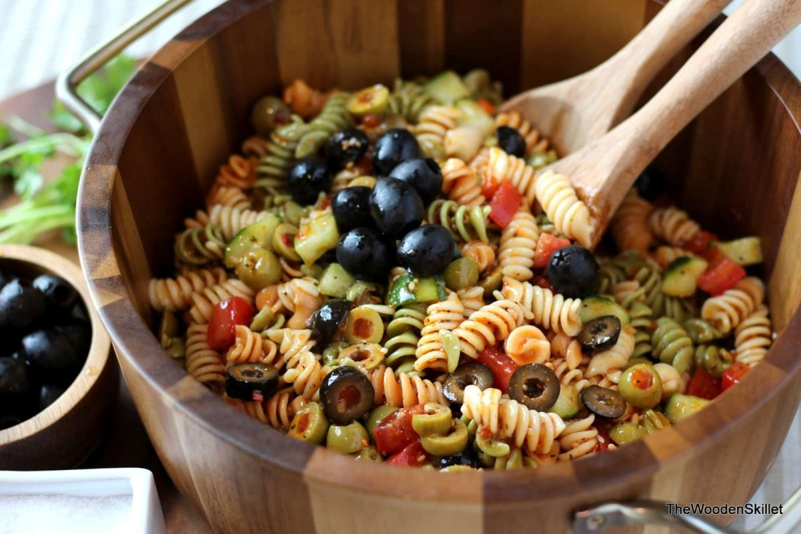 Italian Summer Pasta Salad - The Wooden Skillet