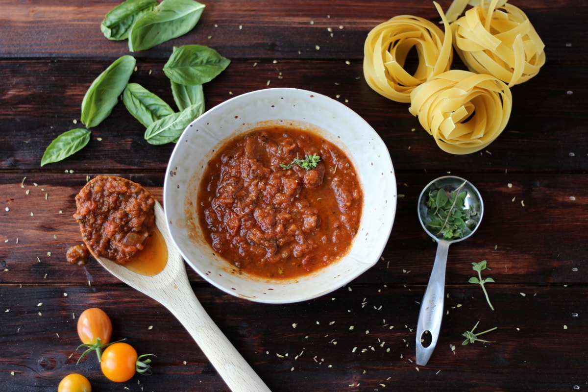 Slow-Roasted Heirloom Tomato and Garlic Marinara Sauce