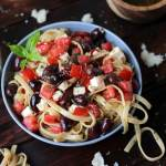 Warm Greek Pasta