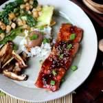 Miso Salmon en Papillote + Shiitake Mushrooms