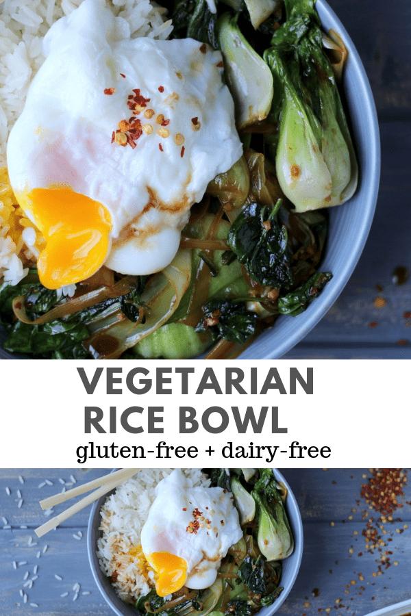 vegetarian rice bowl