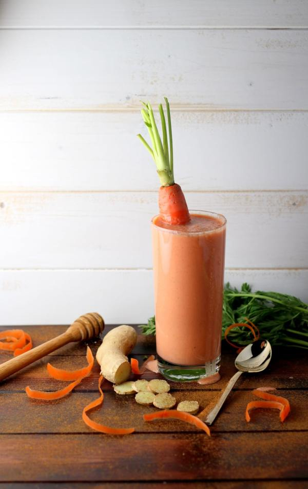 Clean Carrot Ginger Smoothie