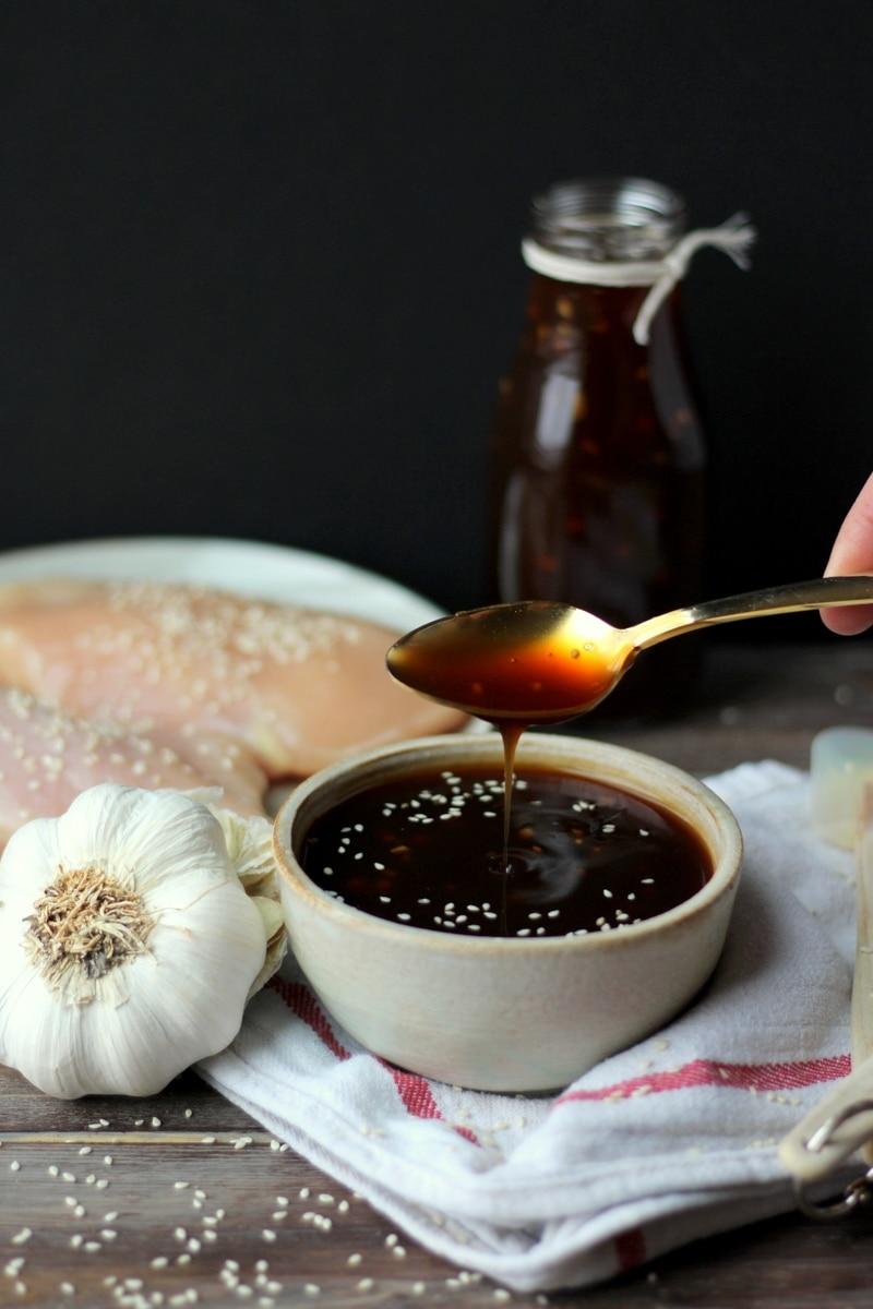 How to Make Homemade Teriyaki Sauce - thewoodenskillet.com #foodphotography