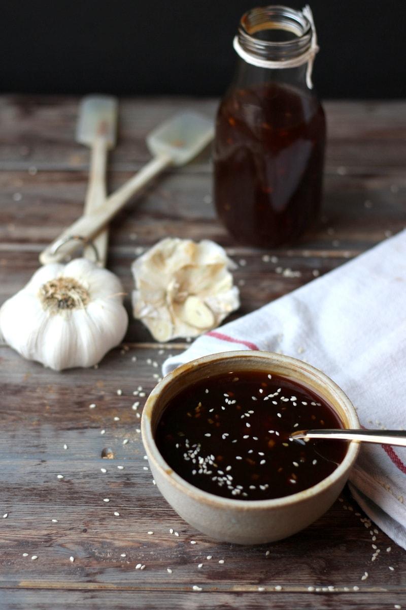 How to Make Homemade Teriyaki Sauce - thewoodenskillet.com