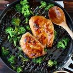 Easy Weeknight Teriyaki Chicken + Broccoli