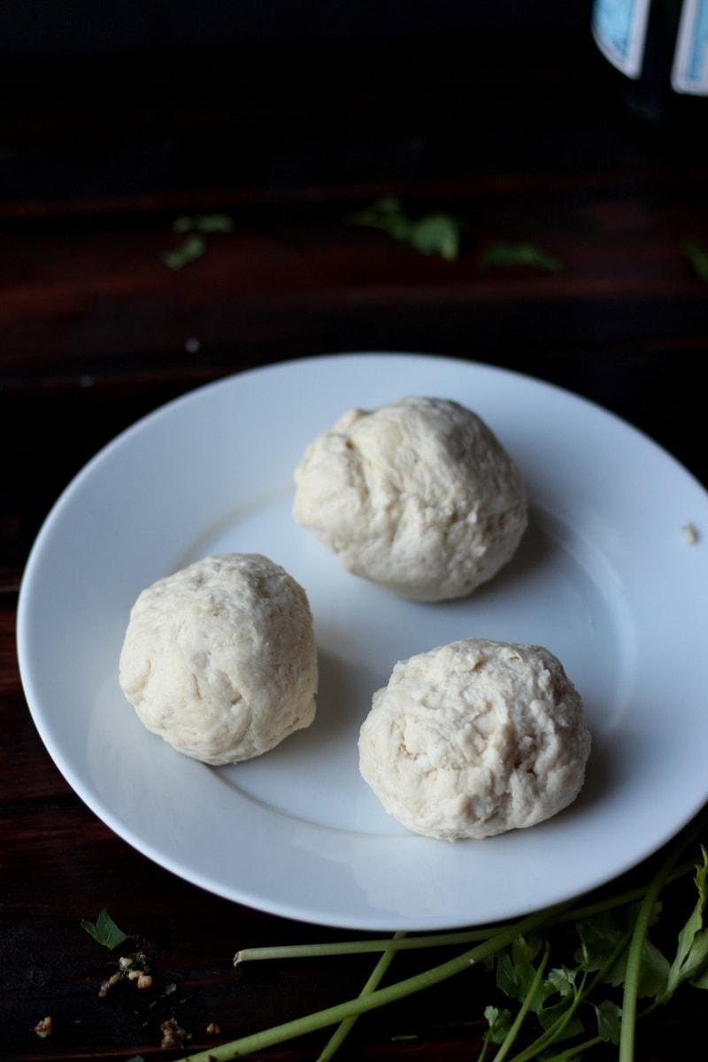 Cheese-Stuffed Dumplings - thewoodenskillet.com
