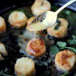 Brown-Buttered Scallops