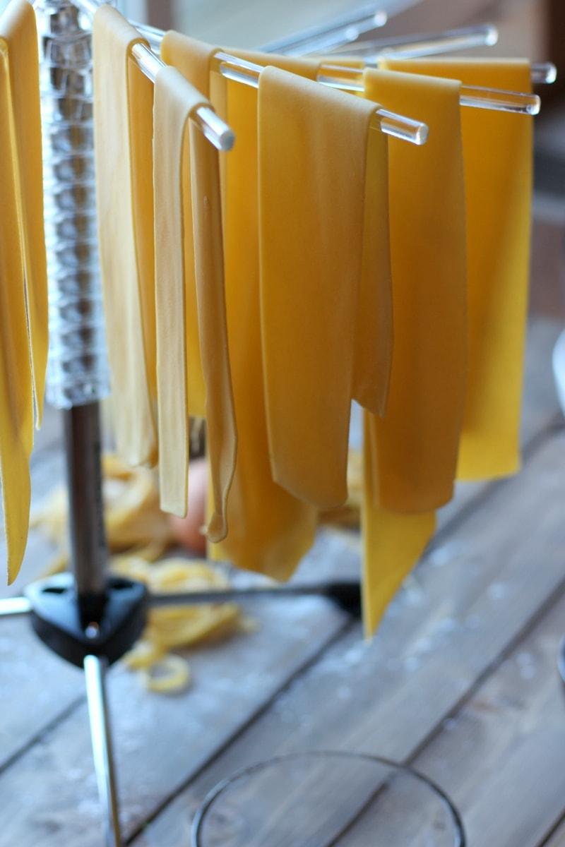 Homemade Pasta. thewoodenskillet.com