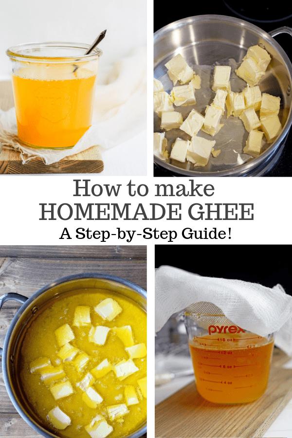 homemade ghee