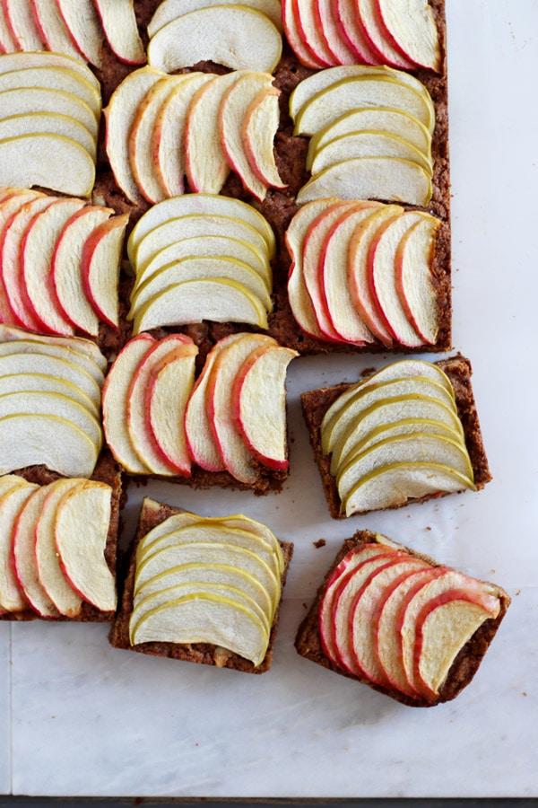 Vegan Apple Walnut Bars