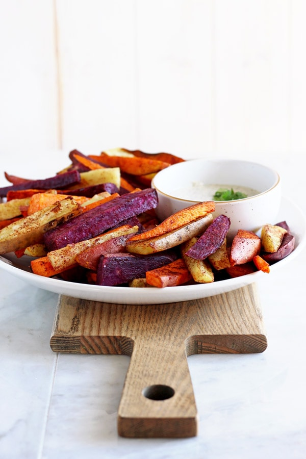 Easy Cinnamon Sweet Potato Sticks