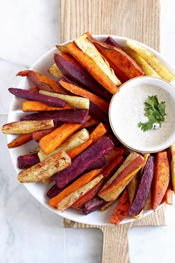 Easy Cinnamon Sweet Potato Sticks