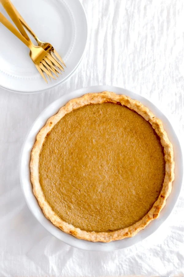 Delicious Dairy Free Pumpkin Pie