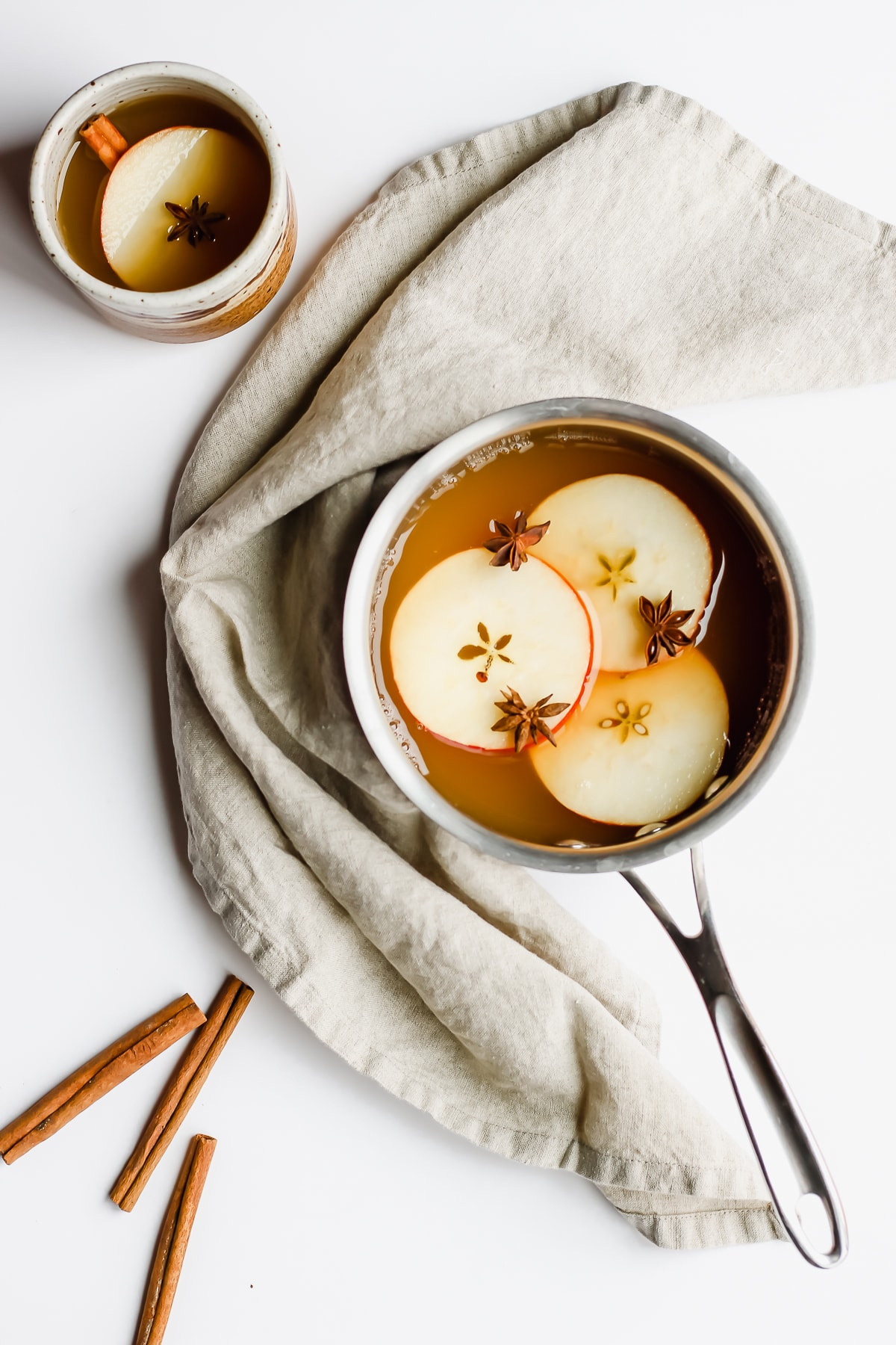Cozy Cinnamon Apple Cider - the perfect way to jazz up your winter apple cider!