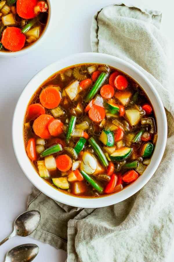 Savory Whole30 Vegetabe Soup