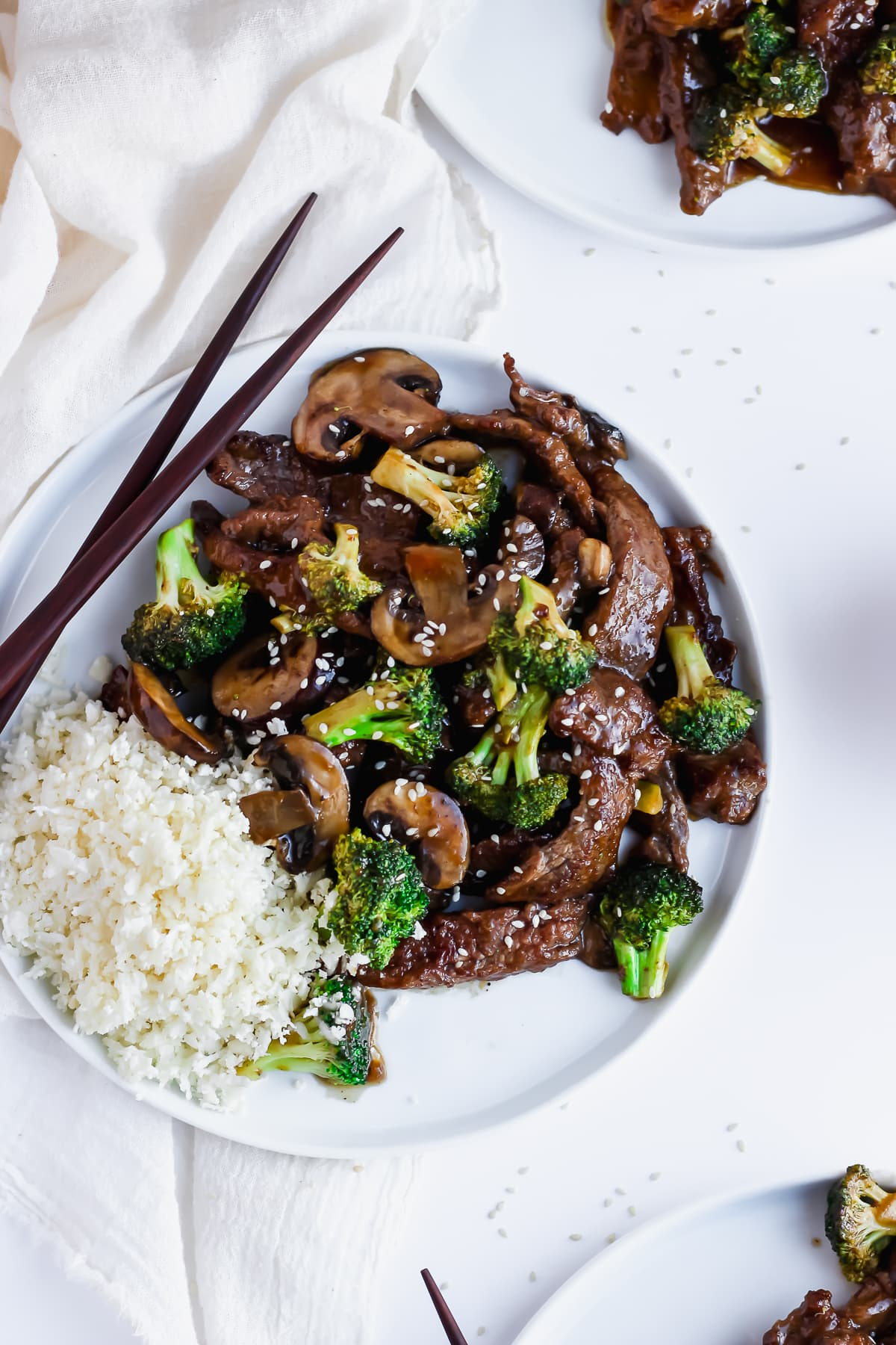 Beef and Broccoli Stir-Fry - Whole30 beef and broccoli is a savory and delicious dinner! #whole30