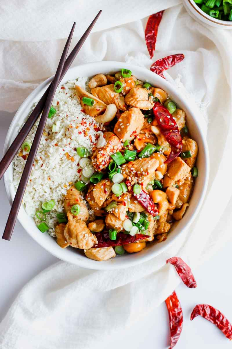 Whole30 Kung Pao Chicken