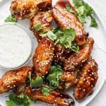 Baked Ginger Sesame Wings
