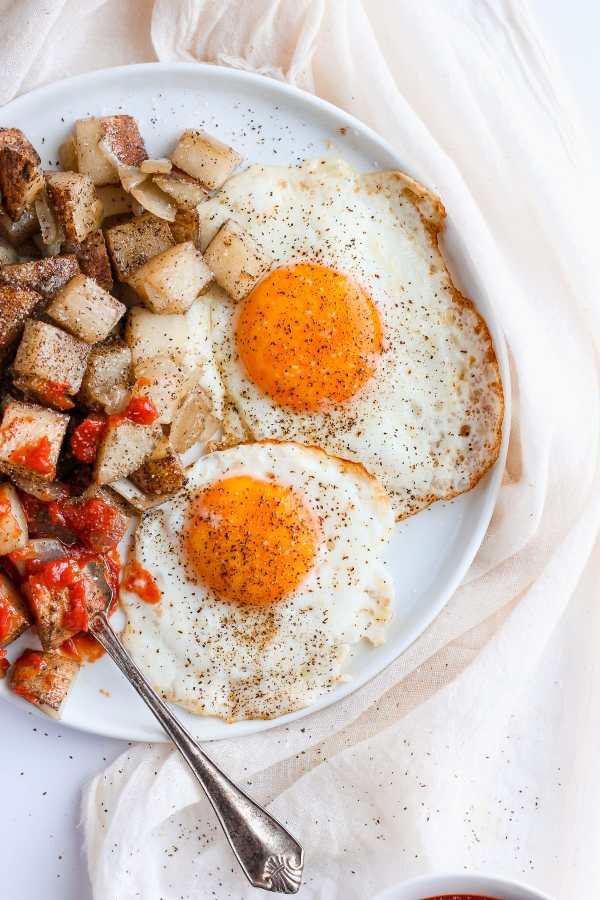 Classic Sunday Morning American Fries