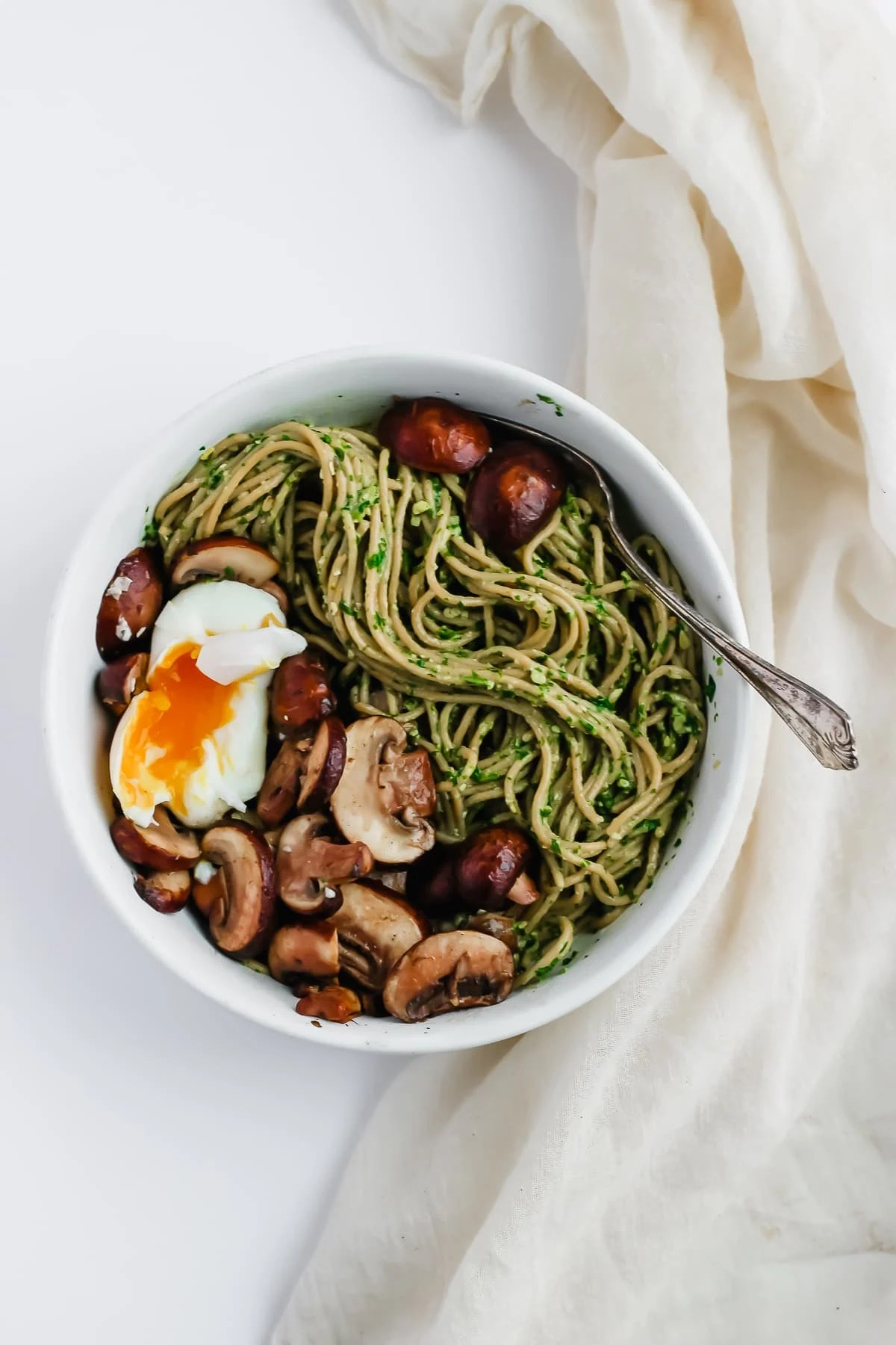Dairy Free Basil Pesto - a quick, easy and delicious option that is diary-free and whole30 compliant! #whole30 #dairyfree #paleo