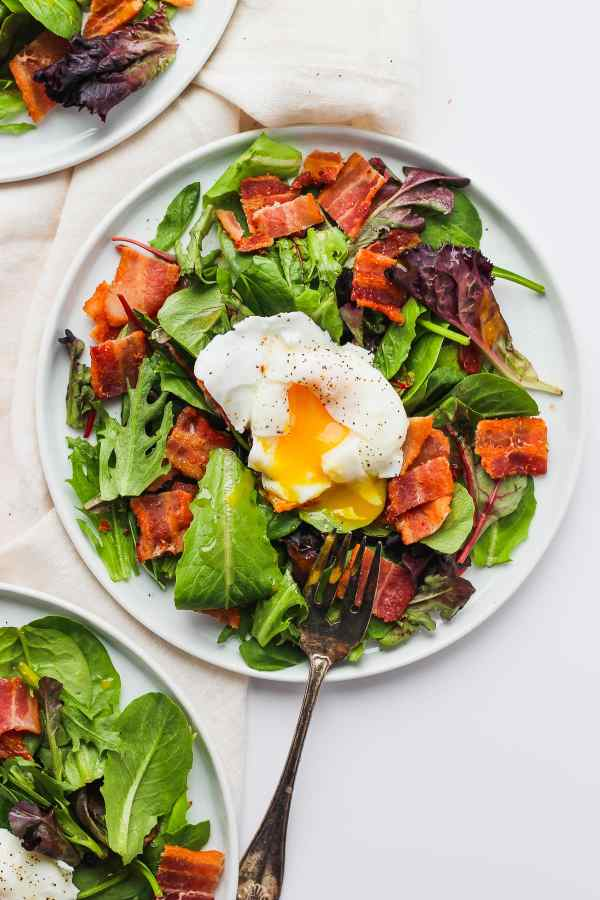 Whole30 Breakfast Salad with Soft-Boiled Egg