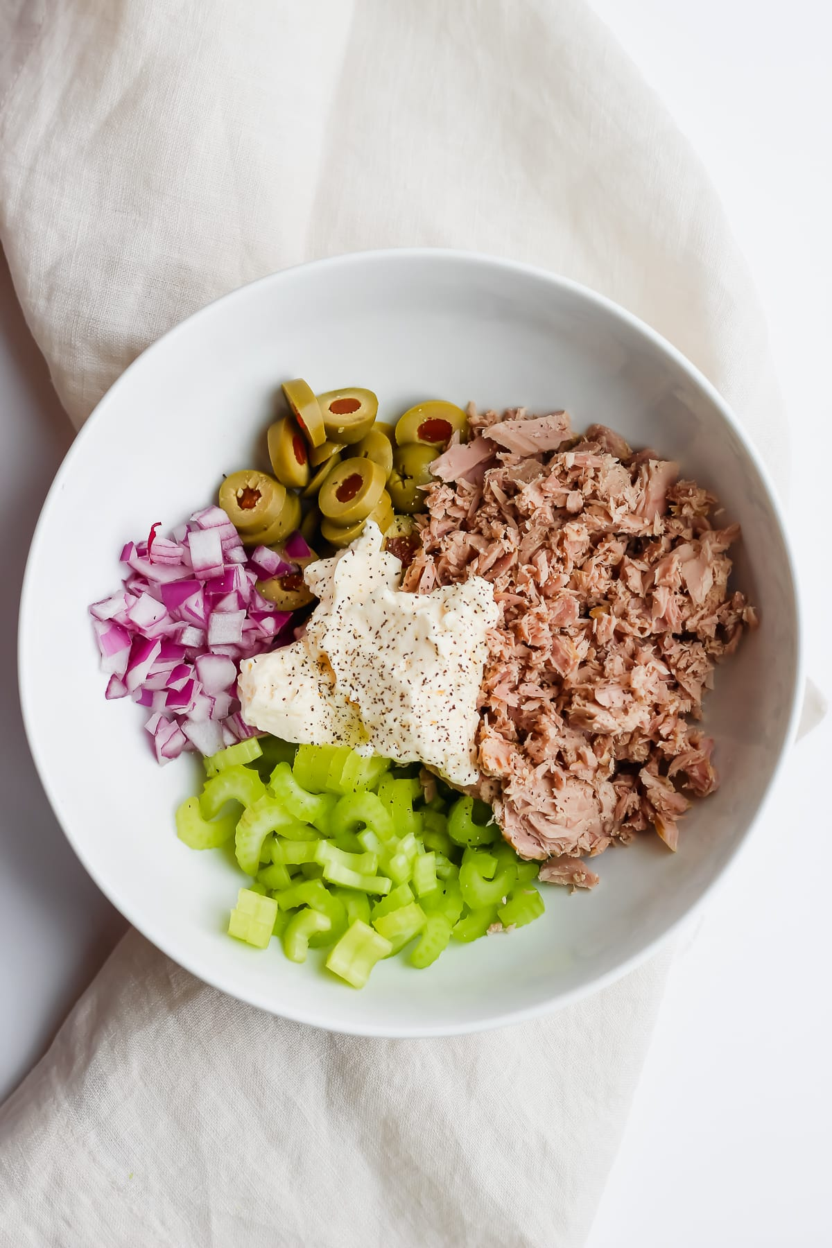 My Favorite Tuna Salad with Avocado - the perfect lunch that can be thrown together in 5 minutes! #whole30 #paleo