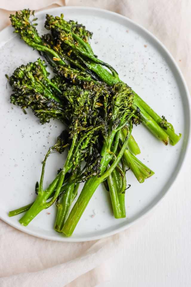 Super Simple Roasted Broccolini
