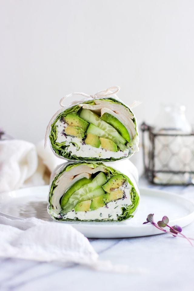 Herby Green Monster Lettuce Wrap