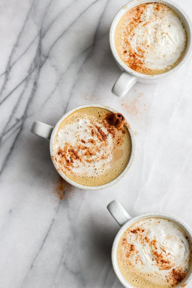 Dairy-Free Pumpkin Spice Latte