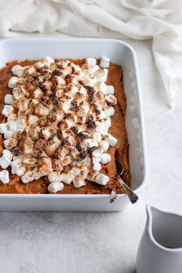 Sweet Potato Pie Bake (Dairy-Free/Paleo-Friendly)
