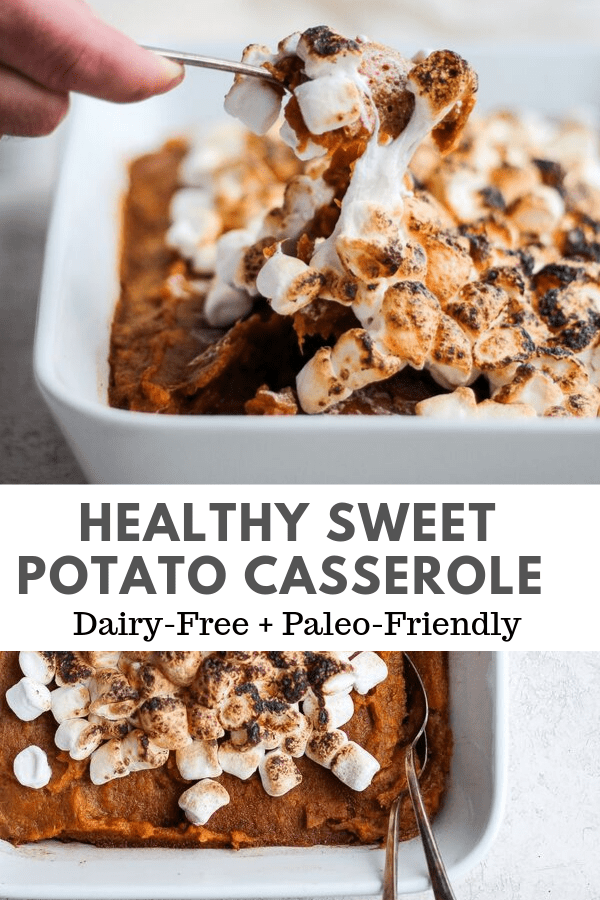 Healthy Sweet Potato Casserole