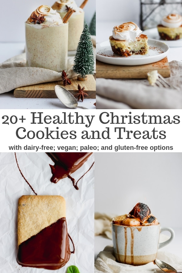 20 + Healthy Christmas Cookies and Treats