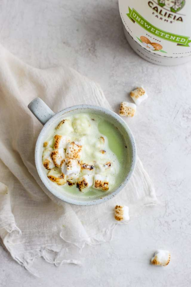 Dairy-Free Matcha White Hot Chocolate