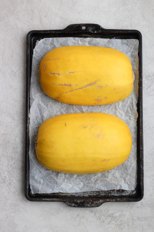 How to Roast Spaghetti Squash in the Oven