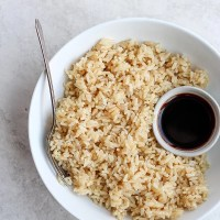 Instant Pot Jasmine Rice (Brown + White)