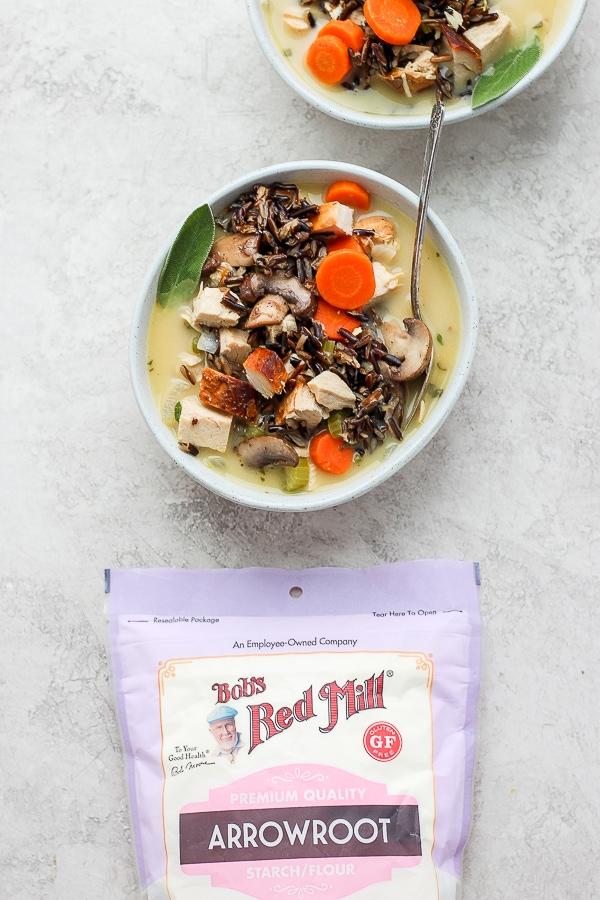 turkey wild rice soup recipe