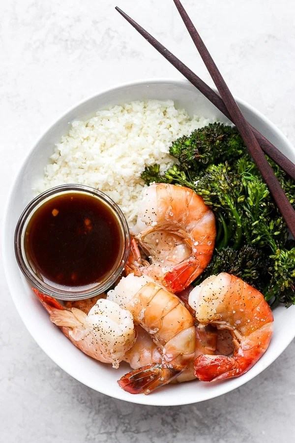 Sheet Pan Shrimp and Broccoli
