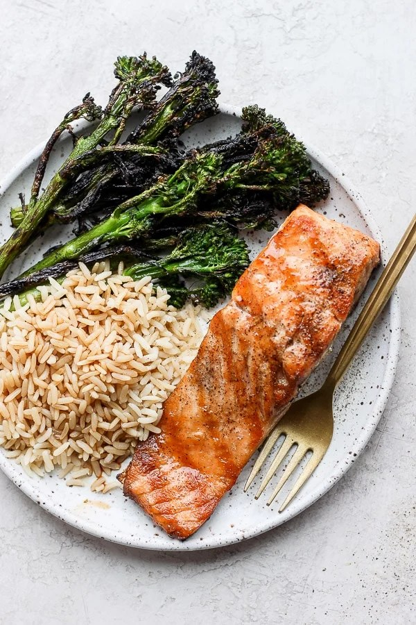 how to grill salmon