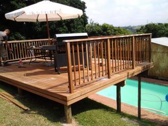 Wooden Deck Toti