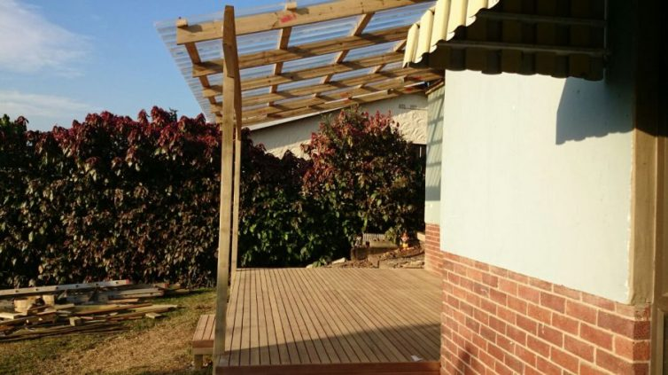 Timber Balau Deck Malvern August 2014 1