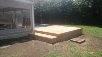 Wooden Pool Deck Pinetown December 2014 6