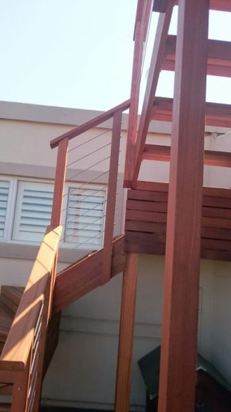 Deck and Stairs Umhlanga March 2016 4