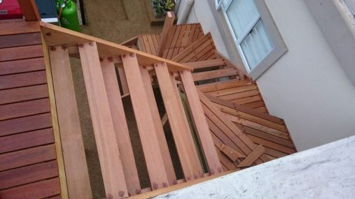 Deck and Stairs Umhlanga March 2016 11