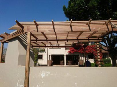 Wooden Pergola Durban August 2016 8