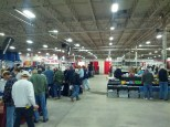 View of the show floor.