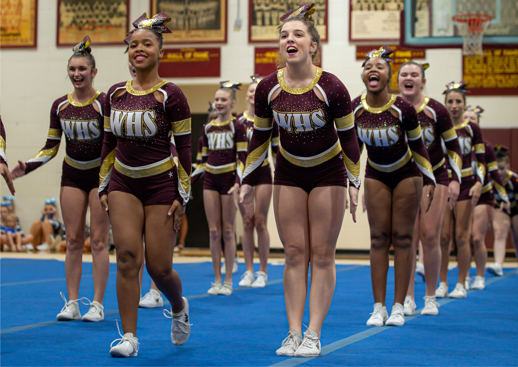 Woodruff competitive cheer team enjoys a successful season
