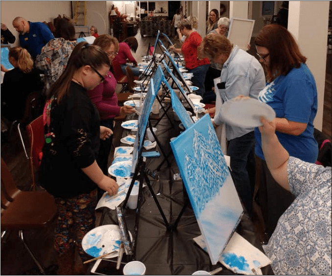 Art and Fellowship: An Evening with the Socorro's
