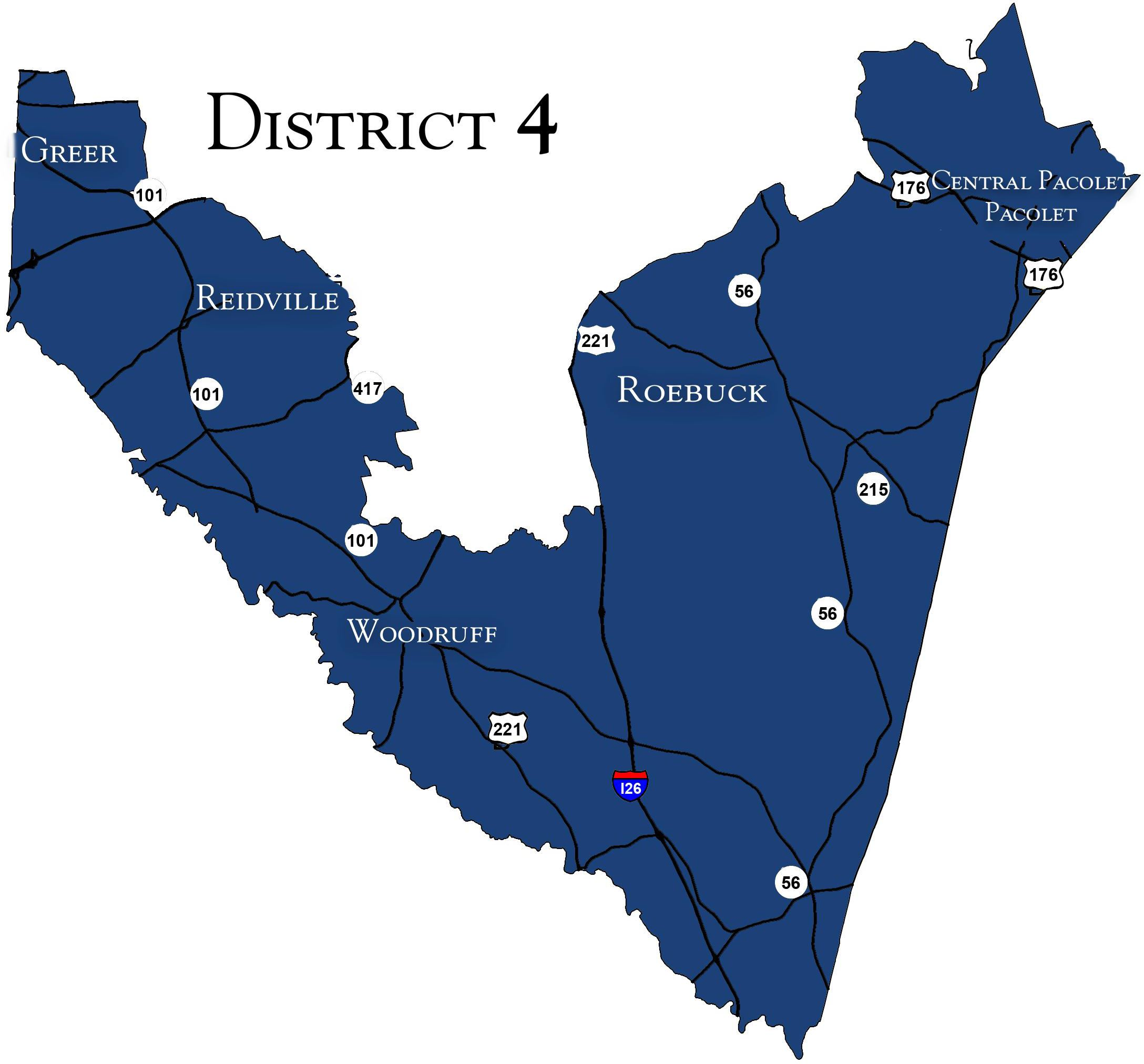 Candidates Running For Spartanburg County Council District 4