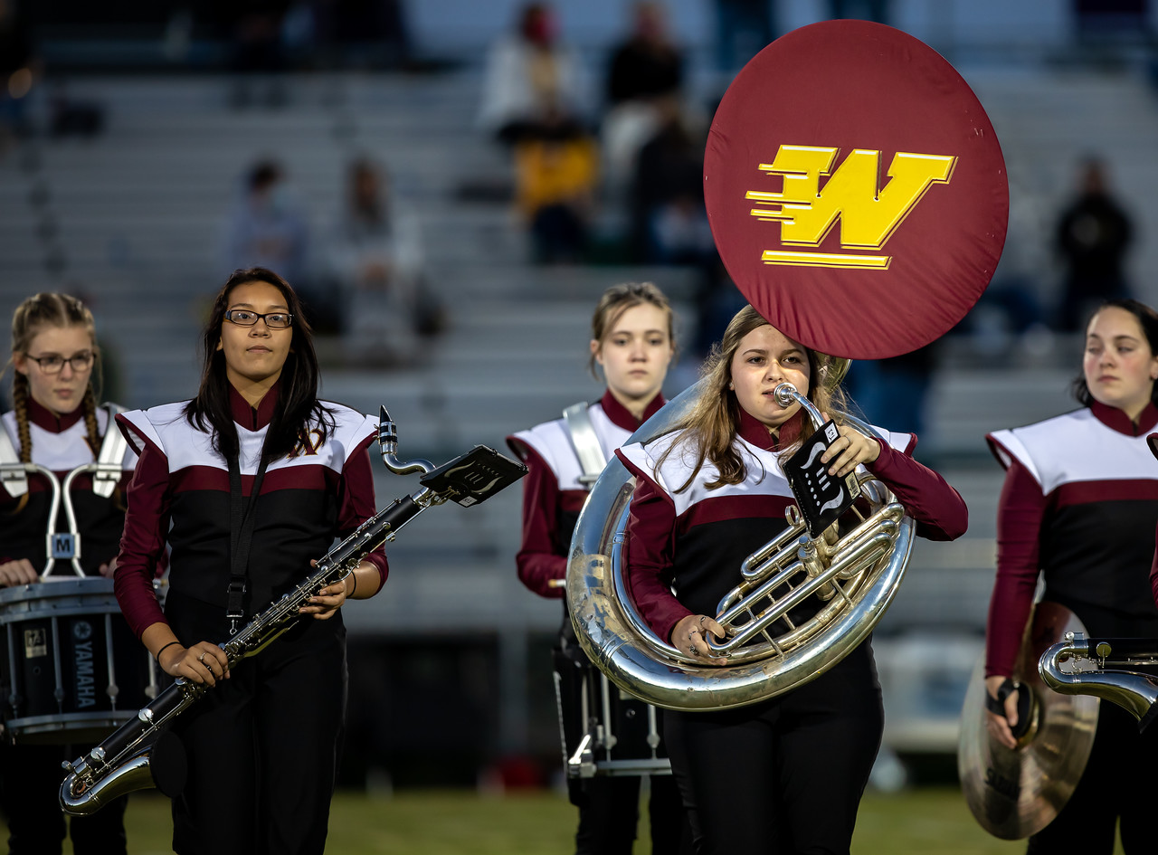Woodruff High Marching Band Stays in Tune During Pandemic-Shortened Season