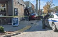 Speeding Vehicle Crashes Into Downtown Building